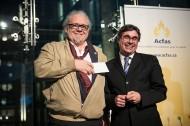 André Gaudreault reçoit le prix André-Laurendeau