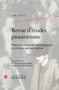 Proust au temps du cinématographe : un écrivain face aux médias